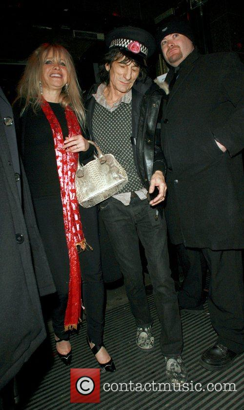 Ronnie Wood and Kate Moss 11