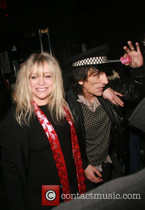 Ronnie Wood and Kate Moss 7