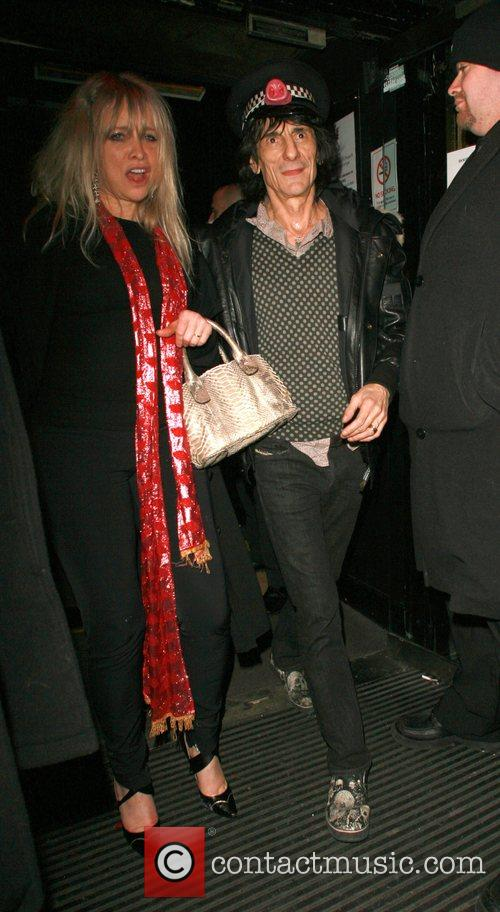 Ronnie Wood and Kate Moss 6