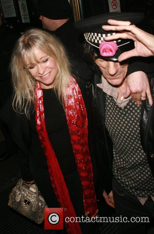 Ronnie Wood and Kate Moss 10