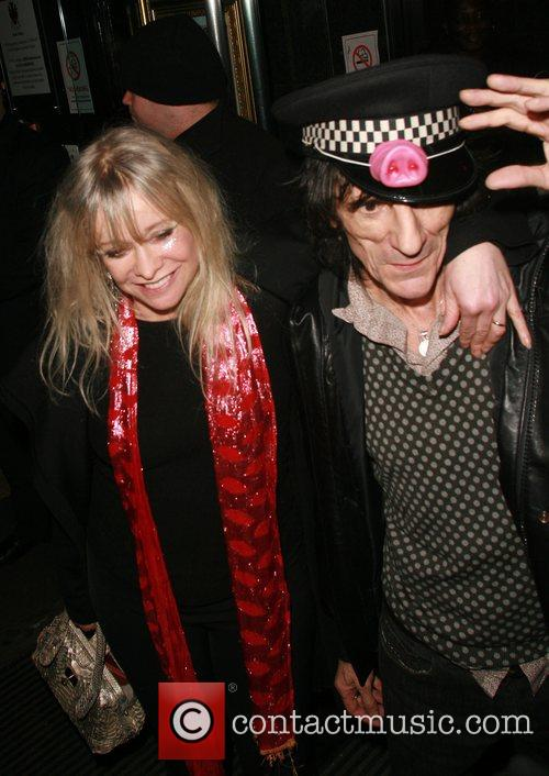 Ronnie Wood and Kate Moss 3