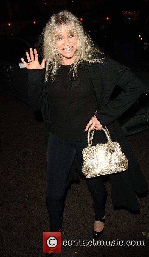 Jo Wood arrives to The Dorchester hotel to...
