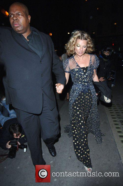 Kate Moss arrives at the Punk nightclub where...