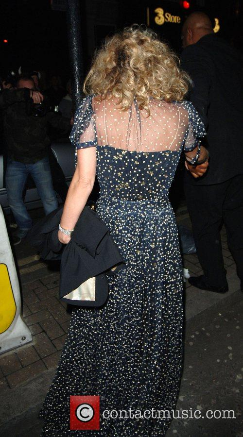 Kate Moss arrives at the Punk nightclub...