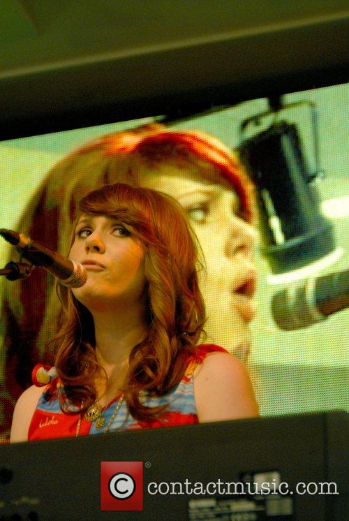 Kate Nash performs live and signs copies of...