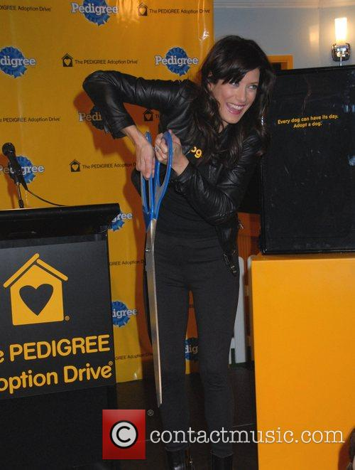 Kate Walsh at the Pedigree Adoption Drive in...