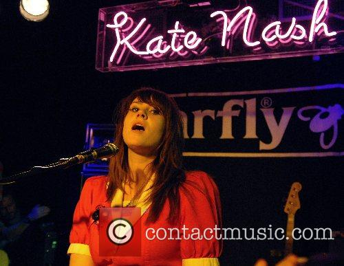 Kate Nash in concert at the Barfly Club...