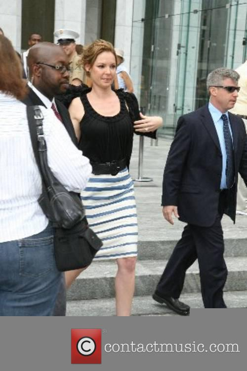Katherine Heigl leaves CBS Studios after appearing on...