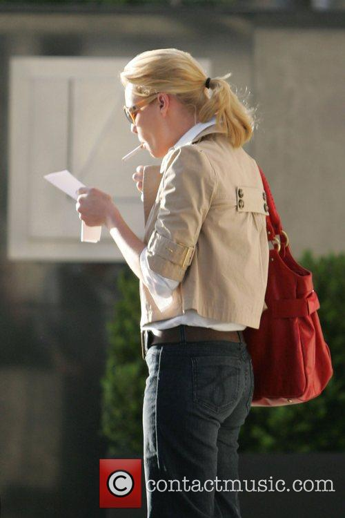 Katherine Heigl going for lunch at Figaro Cafe...