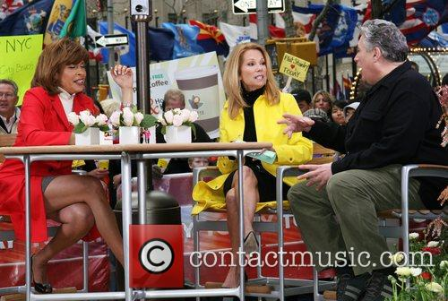 Hoda Kotb, Kathie Lee Gifford and Harvey Fierstein...