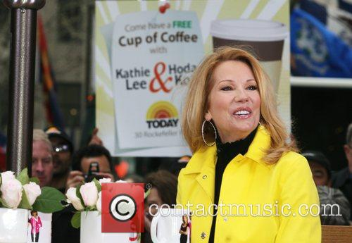 Kathie Lee Gifford during a segment on her...