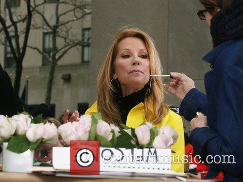 Kathie Lee Gifford on her first day as...