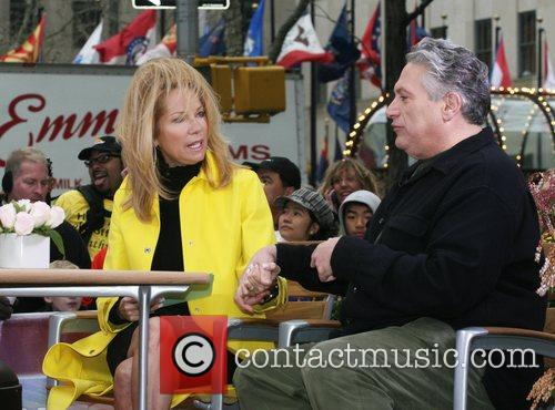 Kathie Lee Gifford and Harvey Fierstein during a...