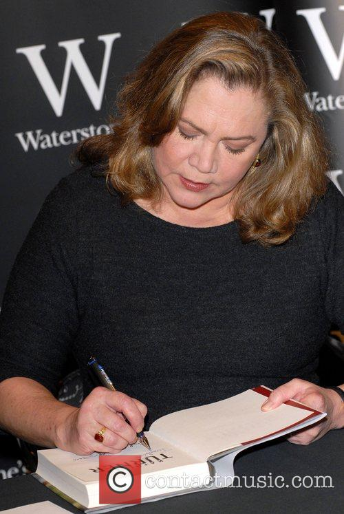 Kathleen Turner at a book signing for her...