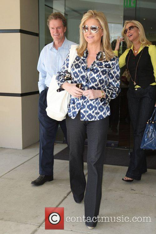 Rick Hilton and Kathy Hilton out and about...