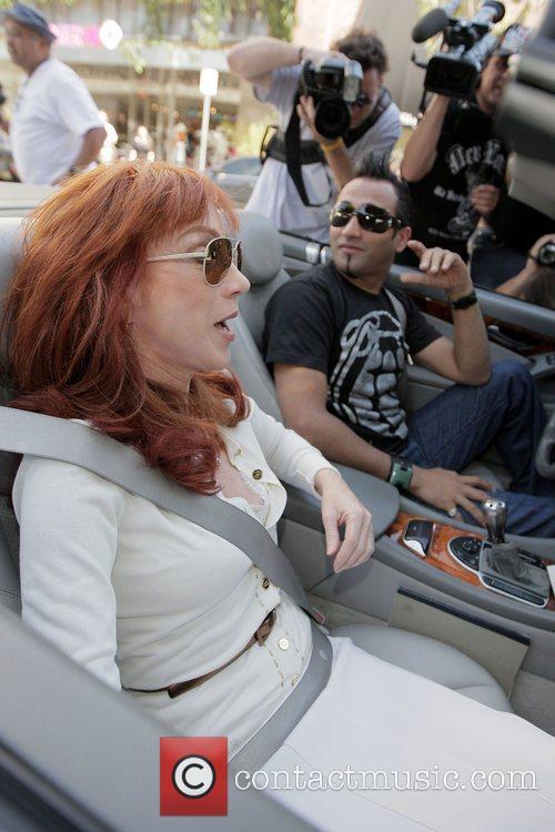 Adnan Ghalib takes Kathy Griffin for a drive...