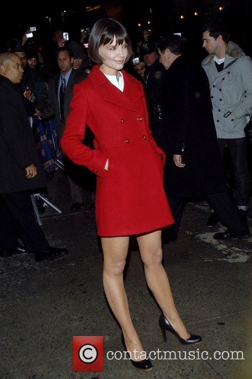 Katie Holmes and David Letterman 5