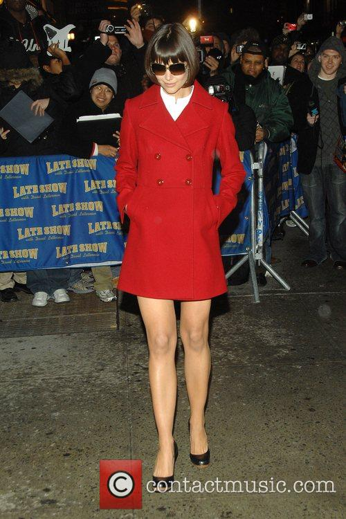 Katie Holmes and David Letterman 10
