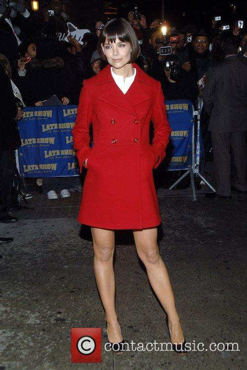 Katie Holmes and David Letterman 6