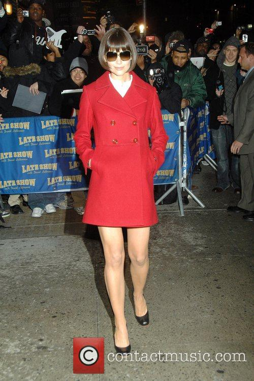 Katie Holmes and David Letterman 8