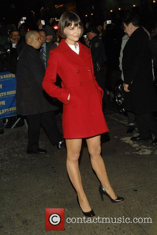 Katie Holmes and David Letterman 3
