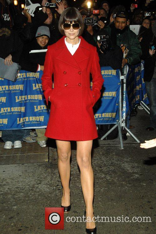 Katie Holmes and David Letterman 9