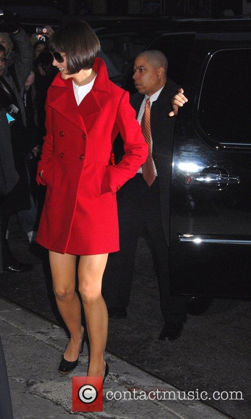 Katie Holmes and David Letterman 14