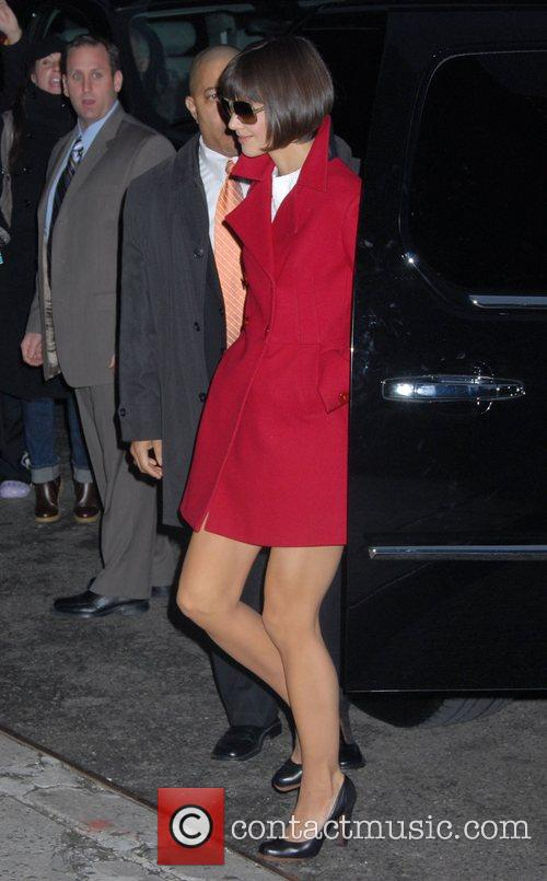 Katie Holmes and David Letterman 16