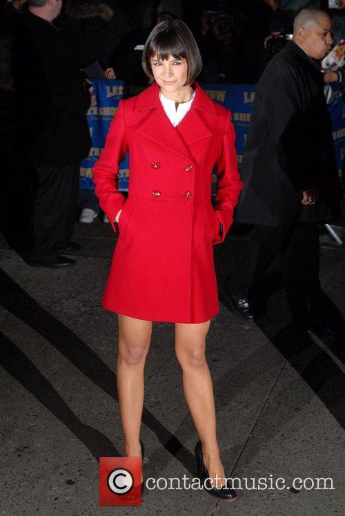 Katie Holmes and David Letterman 18