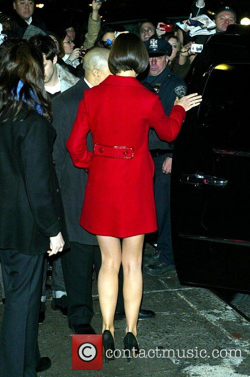 Katie Holmes and David Letterman 31