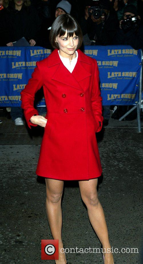 Katie Holmes and David Letterman 22