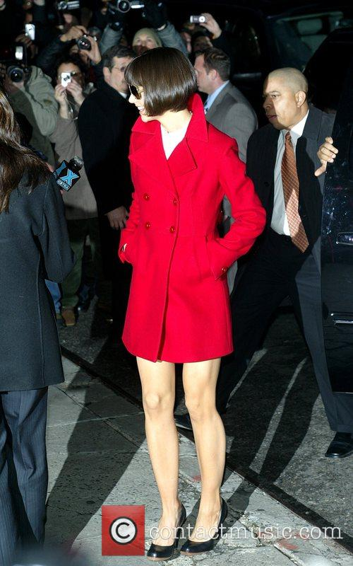 Katie Holmes and David Letterman 20