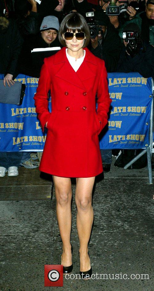 Katie Holmes and David Letterman 21