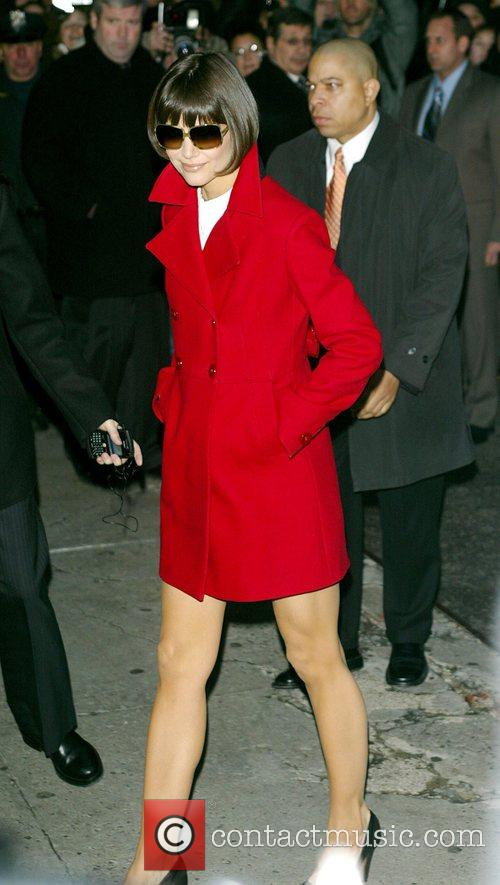 Katie Holmes and David Letterman 29