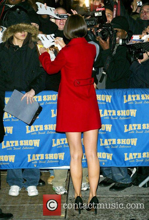 Katie Holmes and David Letterman 27