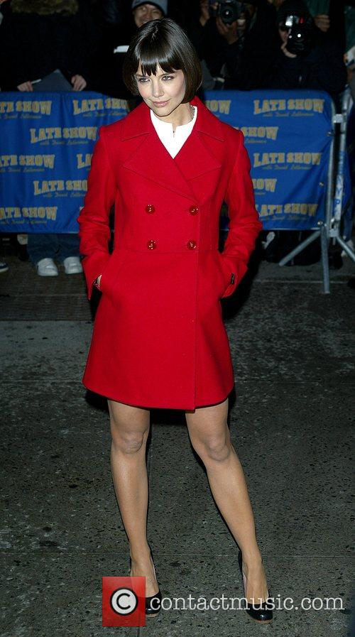 Katie Holmes and David Letterman 23