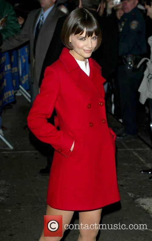 Katie Holmes and David Letterman 24