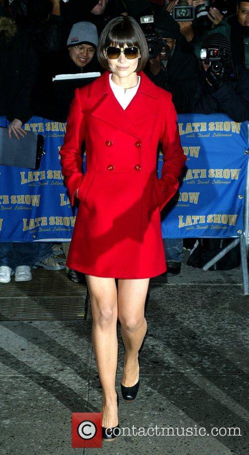 Katie Holmes and David Letterman 28