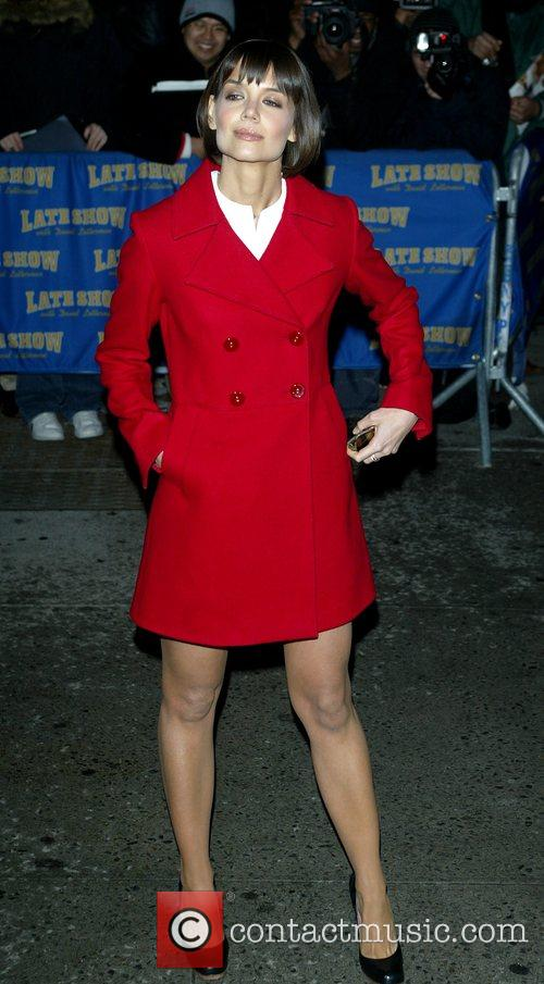 Katie Holmes and David Letterman 30