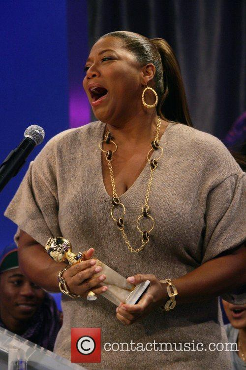 Queen Latifah During an appearance on BET's '106...
