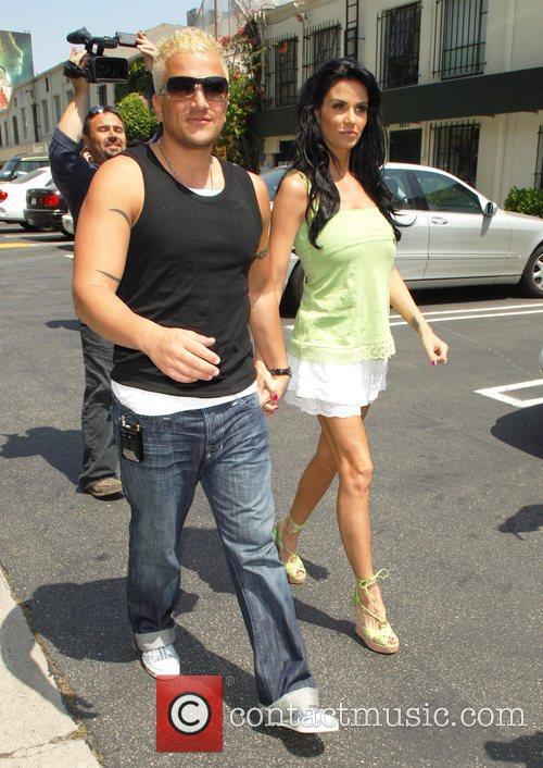 Peter Andre and Katie Price (aka Jordan) shop...
