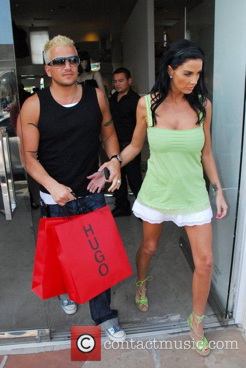 Katie Price and Peter Andre 2