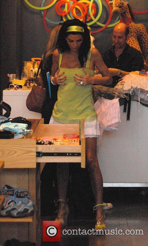 Katie Price  shops for children's clothes at...