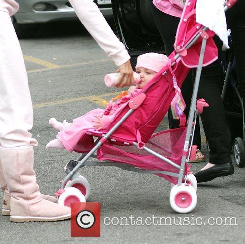 katie price with her daughter princess tiaamii went to starbucks 5120807