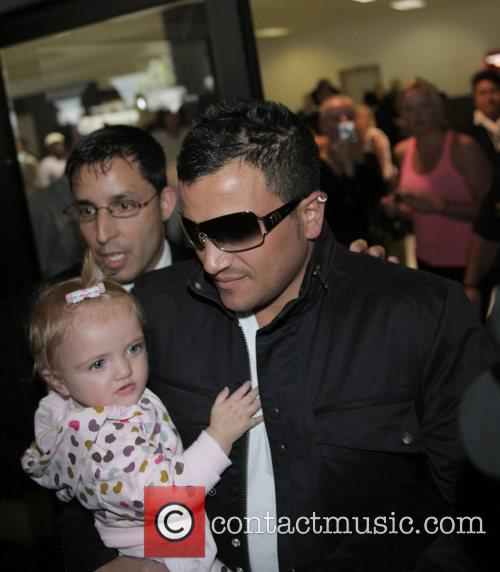 Princess Tiaamii and Peter Andre Peter Andre and...