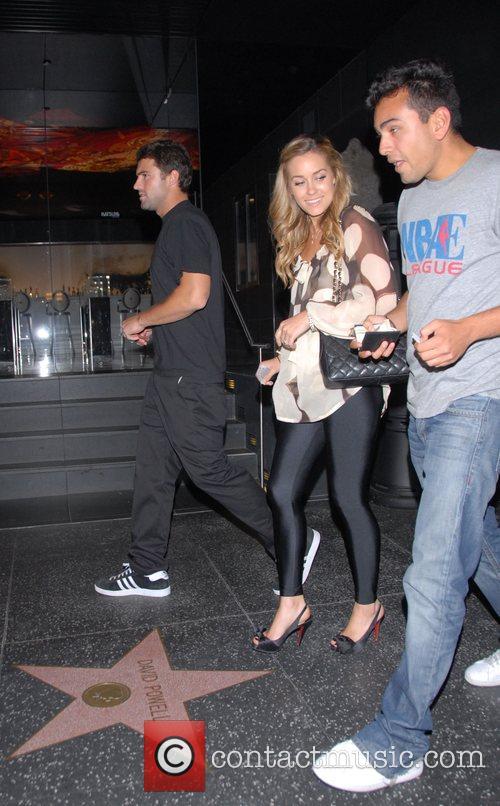 Brody Jenner, Lauren Conrad, Franki Delgado leaving Katsuya....