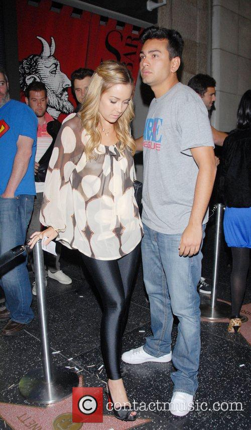 Lauren Conrad and Franki Delgado leaving Katsuya Los...