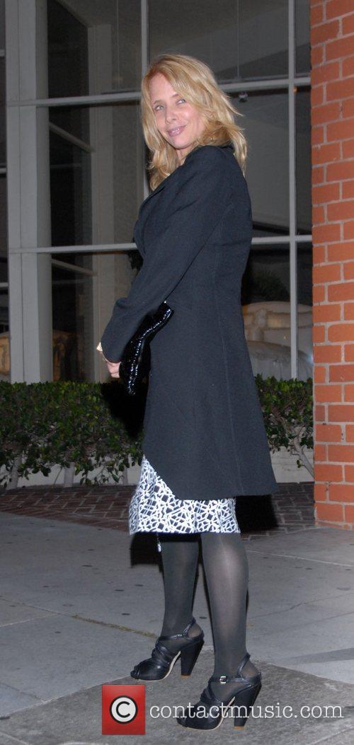 Rosanna Arquette leaving Katsuya
