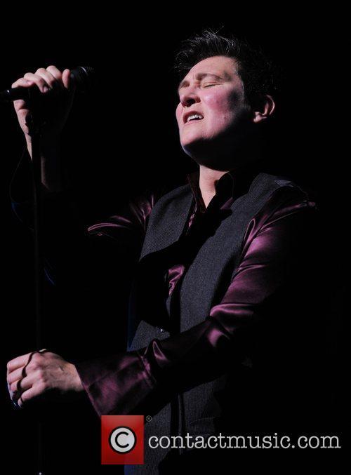 KD Lang  performing live at Hammersmith Apollo...