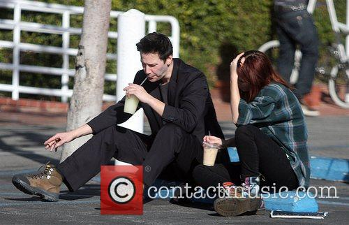Matrix star Keanu Reeves, 43, treated a cute,...